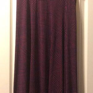 Size small Lularoe maxi skirt